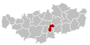 Mont-Saint-Guibert Brabant-Wallon Belgium Map.png
