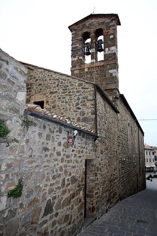 Montalcino, Lachiesa di Sant'Egidio