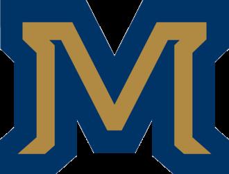 Montana–Montana State football rivalry - Image: Montana State Bobcats M Logo