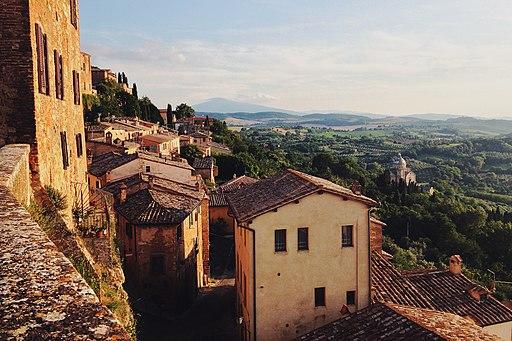 Itinerary Montepulciano - Montefollonico