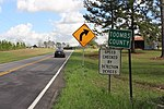 Montgomery County border, S Old River Rd EB 02.jpg