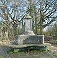 Monument, E Top of Park Hill, Reigate Abbey Park, Surrey - geograph.org.uk - 86768.jpg