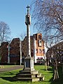 Monument, church yard of Christ the Saviour, Ealing - geograph.org.uk - 680380.jpg