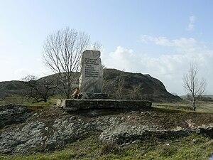 Battle of Rusokastro - Monument of the Battle of Rusokastro.