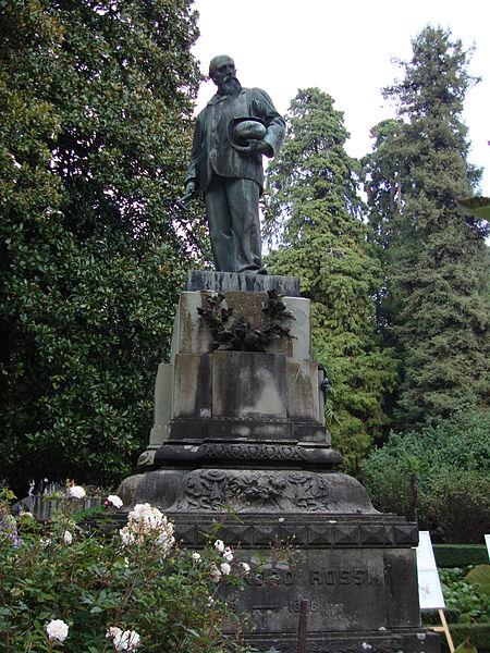 File Monumento Ad Alessandro Rossi Schio Giardino