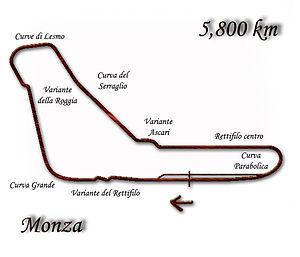 1992 Italian Grand Prix - Image: Monza 1976