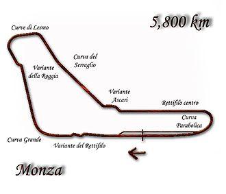 1991 Italian Grand Prix - Image: Monza 1976