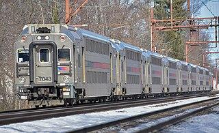 Bombardier MultiLevel Coach Bi-level passenger rail car