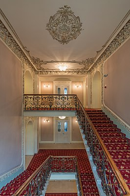 Stairway of Hotel National, Moscow