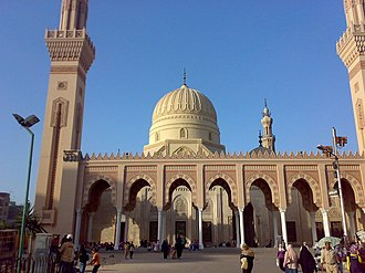 Ahmad al-Badawi - The Mosque of Aḥmad al-Badawī in Tanta, Egypt, which contains the tomb of the saint within its precincts