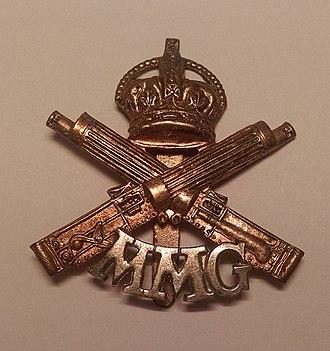 Motor Machine Gun Service - Badge of the Motor Machine Gun Service