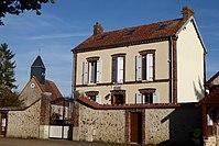 Mottereau mairie église Saint-Antoine Eure-et-Loir France.jpg
