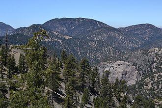 Mount Waterman - Mount waterman from the east