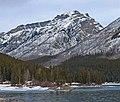 Mount Astley seen from Winnewanka Lake.jpg
