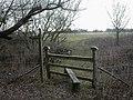 Mount Pleasant, footpath junction - geograph.org.uk - 1715460.jpg