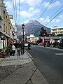 Mount Yufudake from Shimmachi-Yufumidori Street.jpg