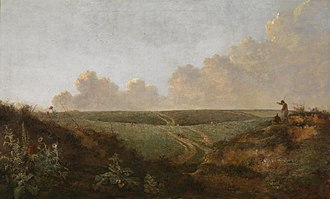 Norwich School of painters - Image: Mousehold Heath, Norwich, by John Crome