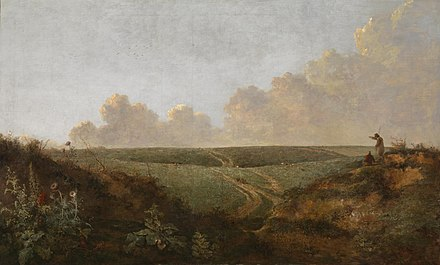 An early 19th-century painting of Mousehold Heath by local artist John Crome Mousehold Heath, Norwich, by John Crome.jpg