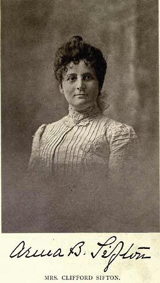 Clifford Sifton - Mrs. Clifford Sifton in 1903, by William James Topley