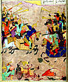 Muhammad Musá al-Mudhahhib - Alexander the Great Fights the Ethiopians - Walters W606252A -miniature.jpg