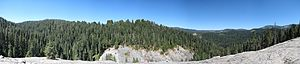 Muir Grove - Image: Muir Grove Trail Rock Panorama