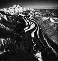 Muldrow Glacier, valley glacier with winding medial moraine, September 5, 1970 (GLACIERS 5188).jpg