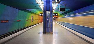Candidplatz (Munich U-Bahn) U-Bahn station in Munich