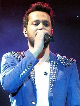 Murat Boz - Boz during a concert in Silifke in 2012
