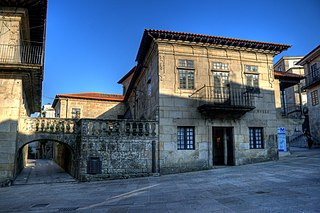 Pazo de Castro Monteagudo Mansion in Pontevedra, Spain
