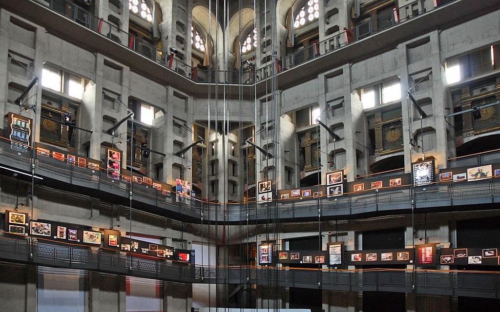 Expo photo dans le musée du cinéma de Turin - Photo de Jean-Pierre Dalbéra