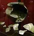 Museumkelder Derlon, Maastricht - 7e-eeuwse potscherven2.JPG