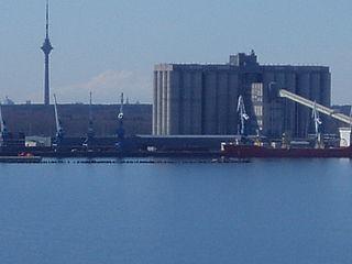 cargo port in Estonia