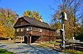 Muzeum - skanzen (Rožnov pod Radhoštěm) - Dřevěné městečko 020.JPG