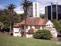 Myers Free Kindergarten building in Auckland, New Zealand.