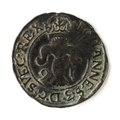 Mynt av silver. 2 öre. 1591 - Skoklosters slott - 109109.tif