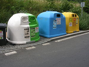 recycling cover