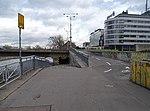 Nábřeží Ludvíka Svobody, podjezd pod Hlávkovým mostem.jpg