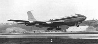 Boeing 367-80 - Boeing 367-80 (N70700) prototype in a NASA archive photo