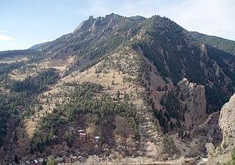 Eldorado Mountain - Image: NNE Eldorado Mtn