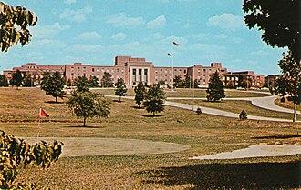 Naval Ordnance Laboratory - 1960s-era postcard