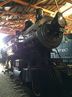 Northern Pacific class S-10 Historic type of railroad steam engine