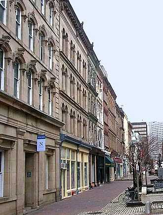 Art school - NSCAD University in Halifax was Canada's first degree-granting art school.