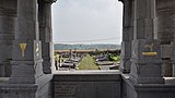 NW view of the Court-Saint-Étienne cemetery from the Mausolée Goblet d'Alviella (DSCF7584).jpg