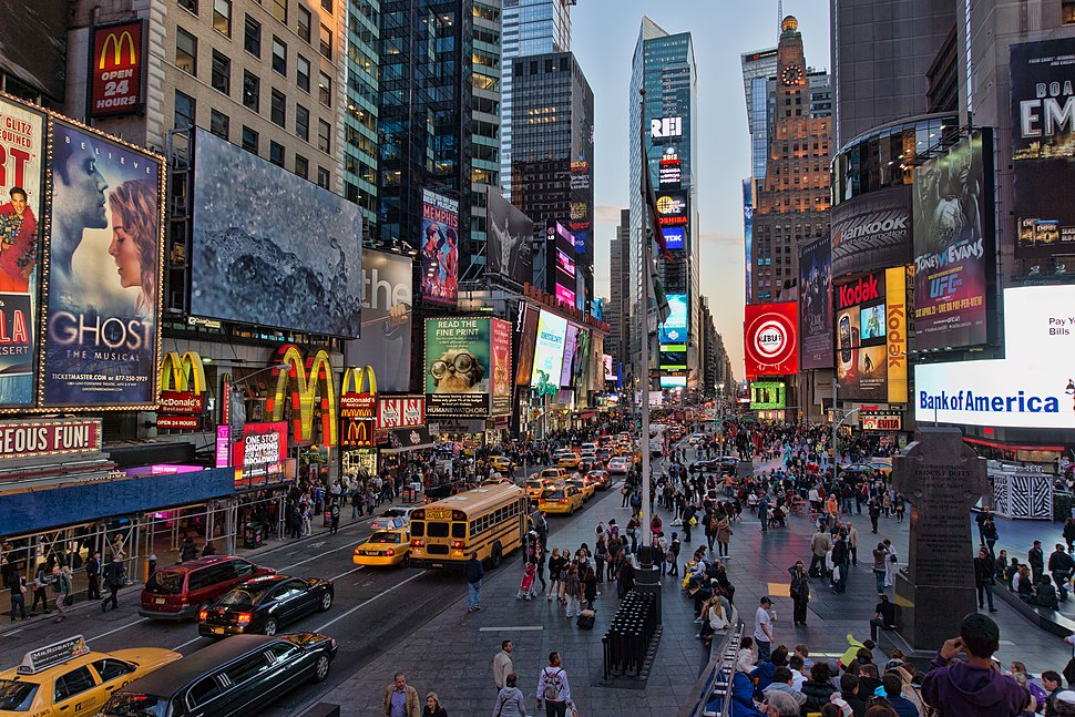 NYC - Time Square - From upperstairs