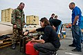 NZ Army Engineers distribute water at New Brighton Beach after the Christchurch Earthquake - Flickr - NZ Defence Force.jpg