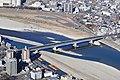 Nagara Bridge from Gifu Castle.jpg