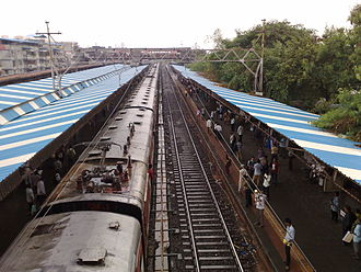 Nala Sopara railway station - Image: Nalla Sopara overview Platform 1 & 2