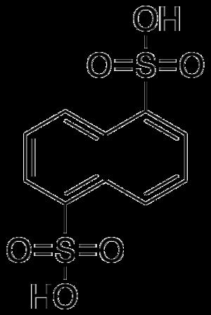 Armstrong's acid - Image: Naphthalene 1,5 disulfonic acid