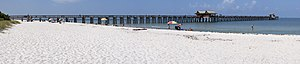 Naples, Florida - The Naples Fishing Pier is one of the area's better-known landmarks.
