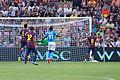 Naples vs Barcelone - Genève - aout 2014 - Andrés Iniesta.jpg